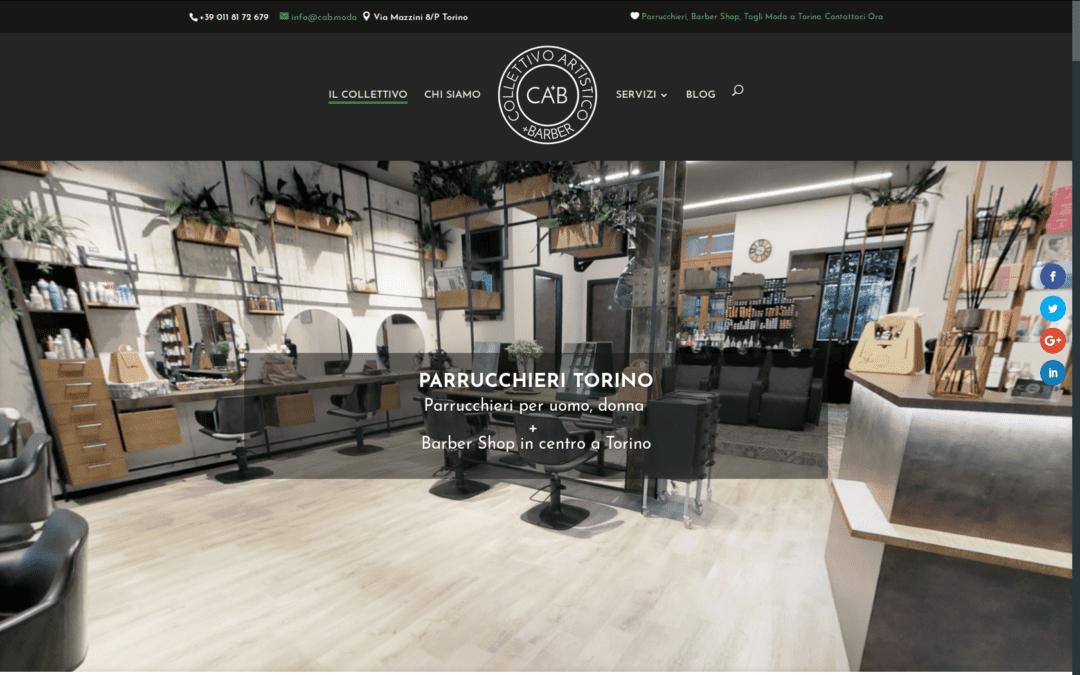 CAB Parrucchieri Torino : Il nuovo sito è online!